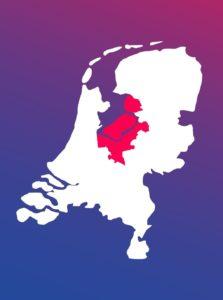 kaart nederland ggz centraal wit (klein) GGZ CENTRAAL