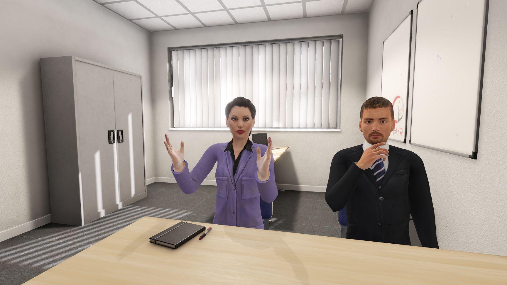 CleVR B.V. - dynamisch interactieve VR - kantoor,- overlegsituatiekopie