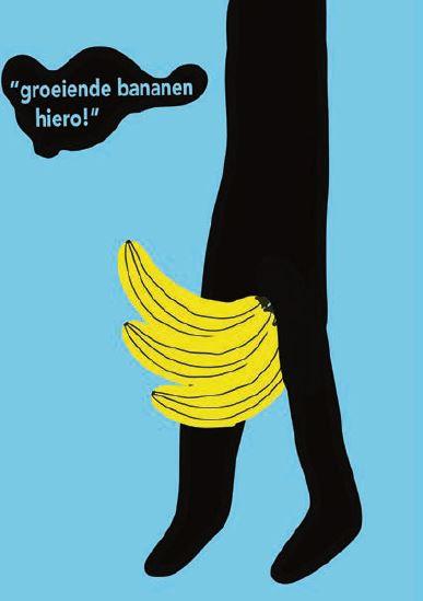Una Jongenelis illustratie bananen