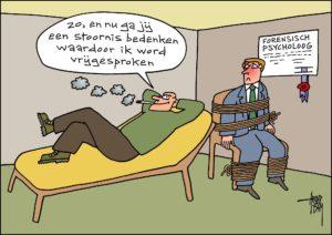 ForensischPsycholoog(stoornis)+ arend van dam cartoon